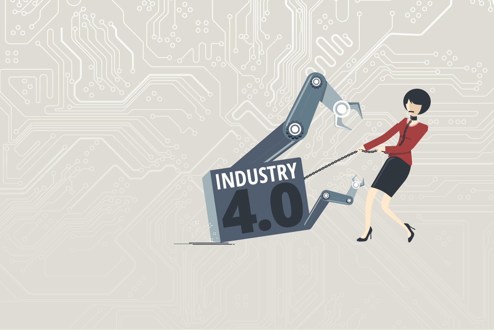 Industrie 4.0: Vom Sklaven der IT zum Kapitän der Arbeit.