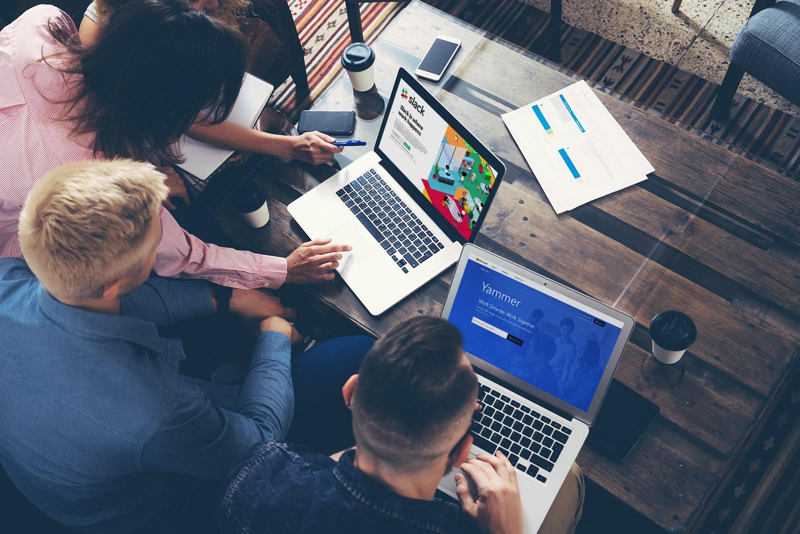 Per Social-Network-Tools einfach und schnell mit Kollegen auf der ganzen Welt kommunizieren