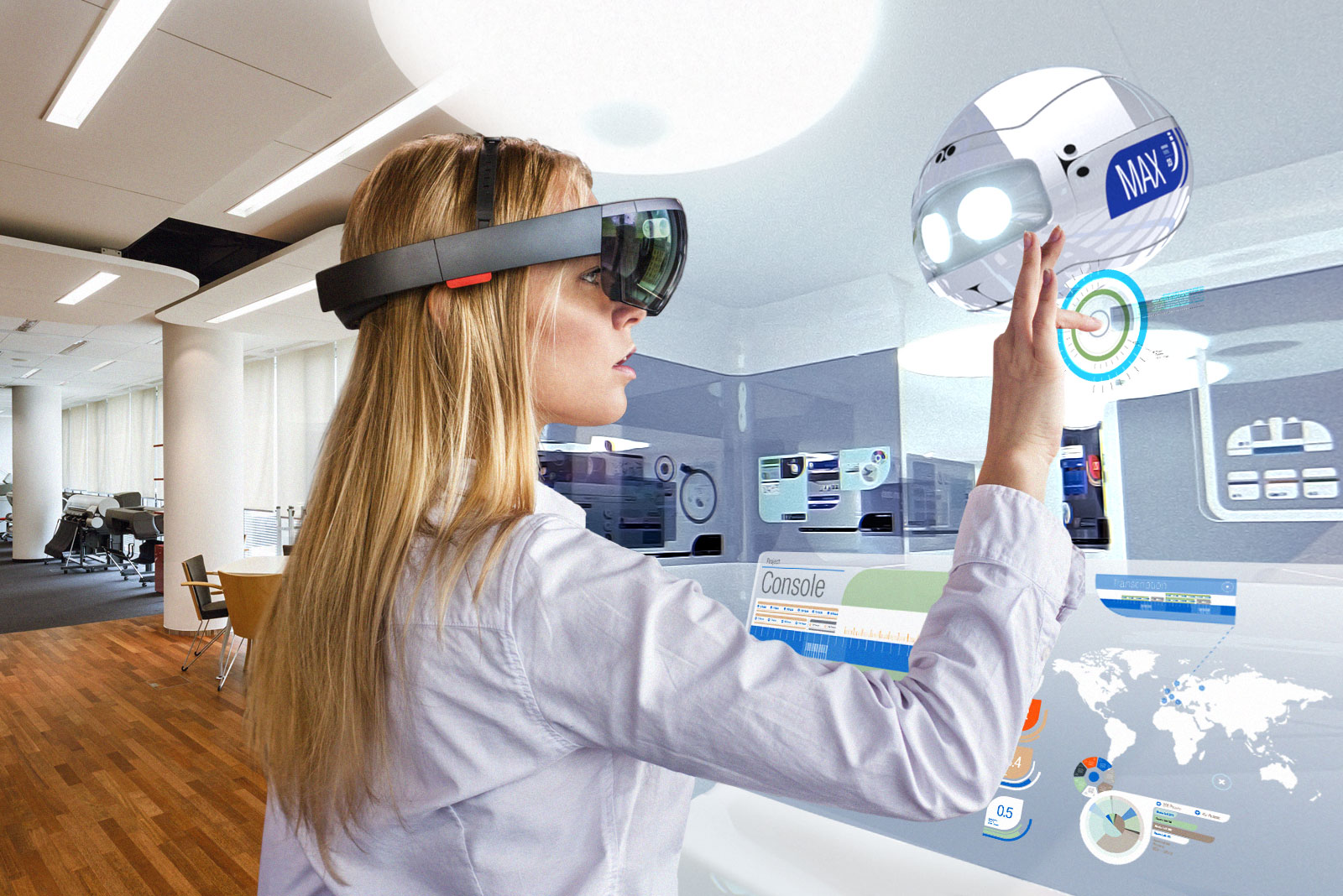 Virtual Reality, Augmented Reality, Zukunft der Arbeit, Transformation