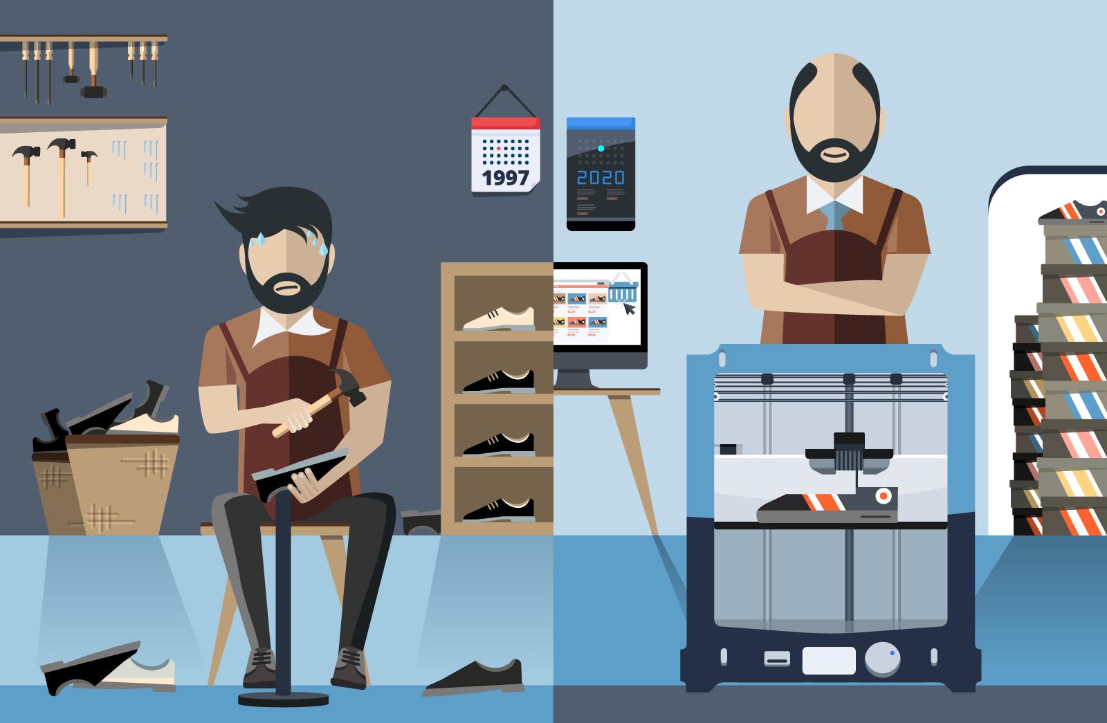 Sogar ein Schuster kann sein Unternehmen digitalisieren