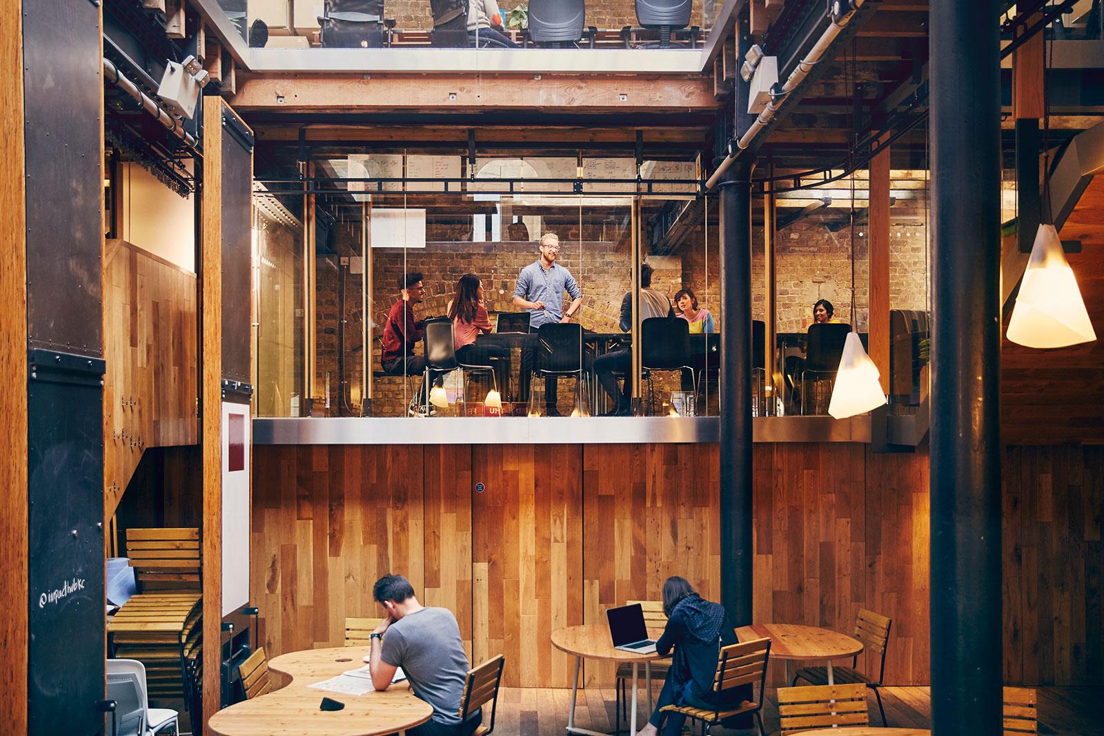 Ein modernes und inspirierendes Büro
