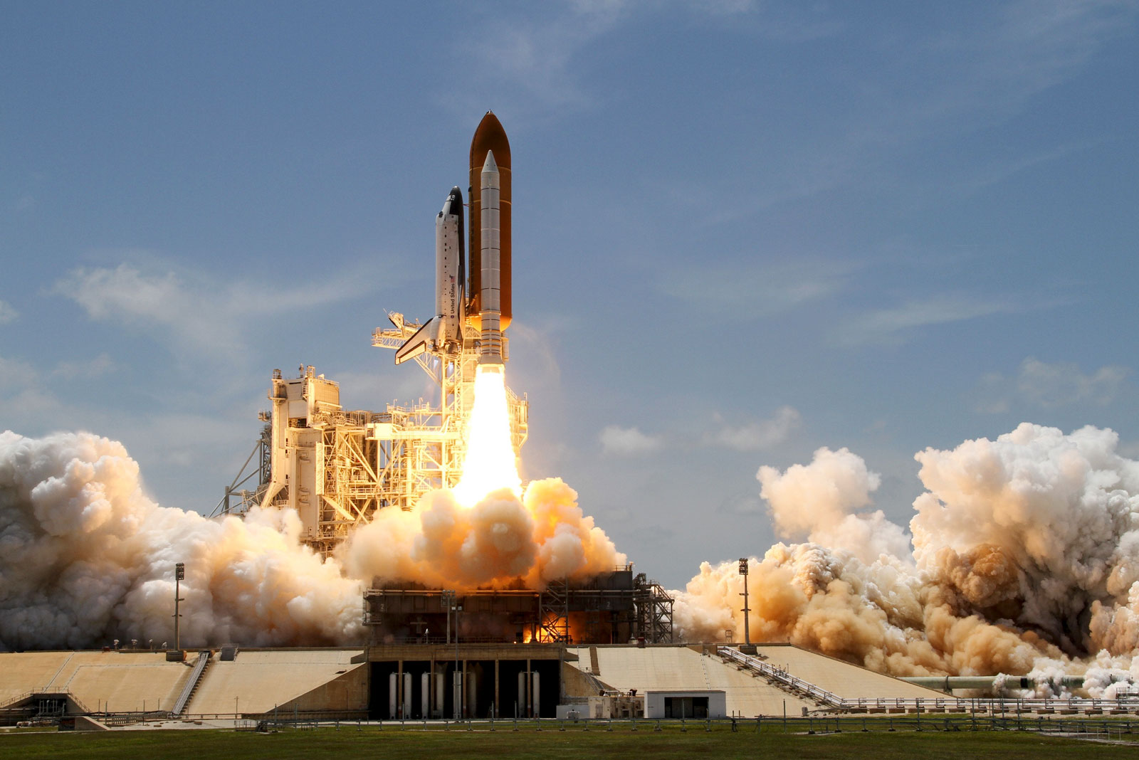 Raketenstart als Visualisierung von Innovationskraft