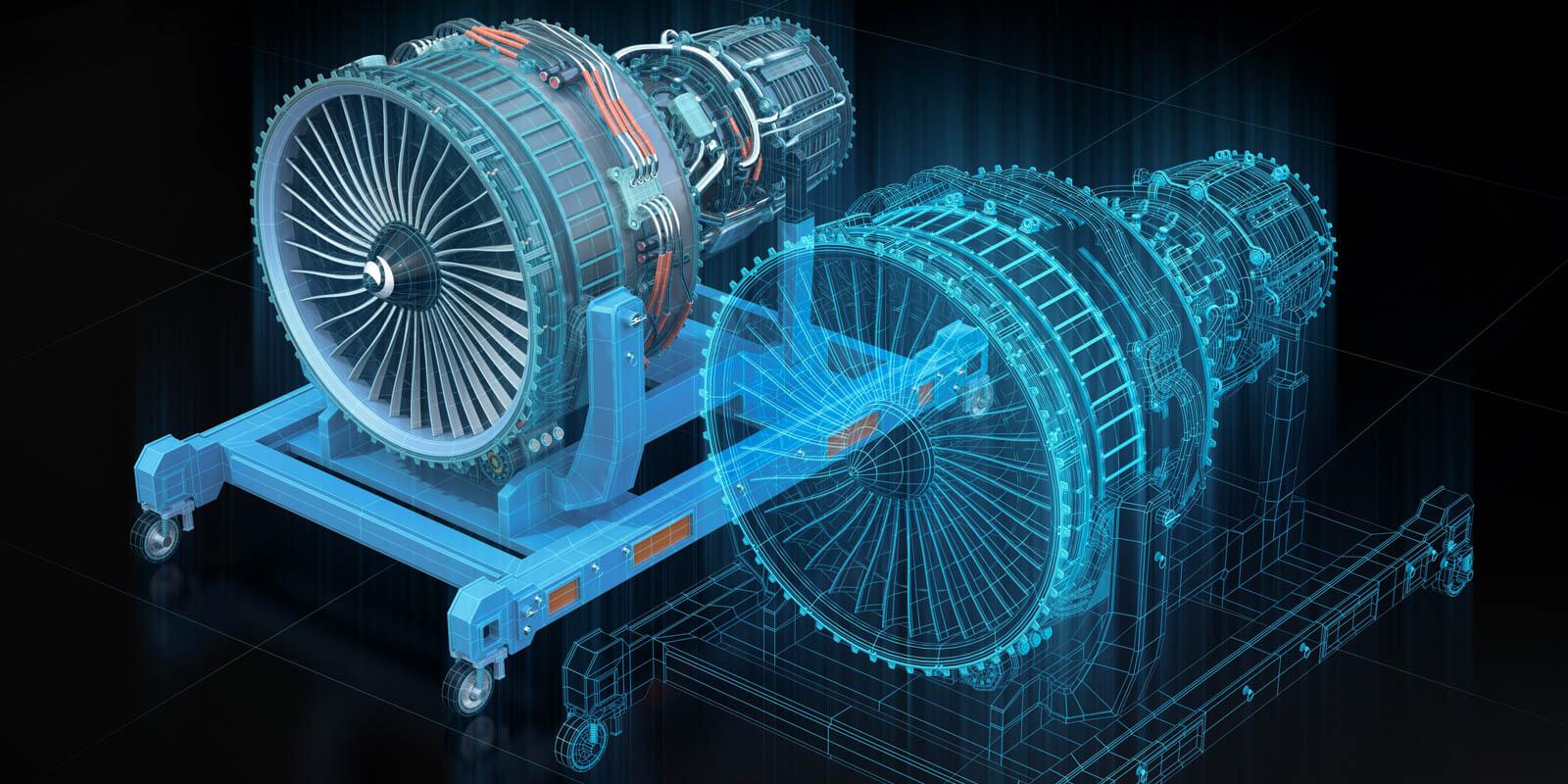 Der digitale Zwilling einer Turbine