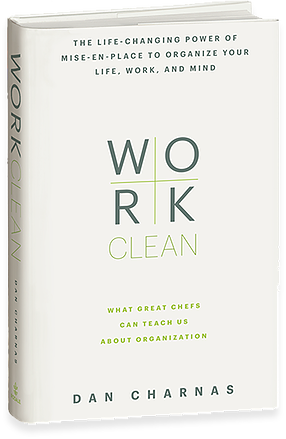 Book cover of Work Clean by Dan Charnas