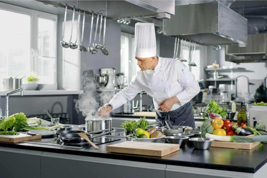 Work clean – working like a top chef