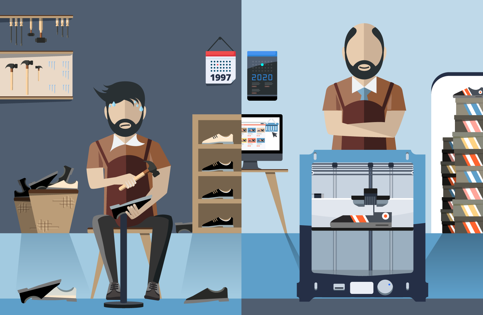 even a shoemaker can digitize his business