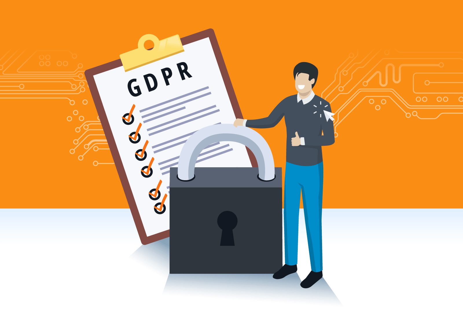 6 month of GDPR