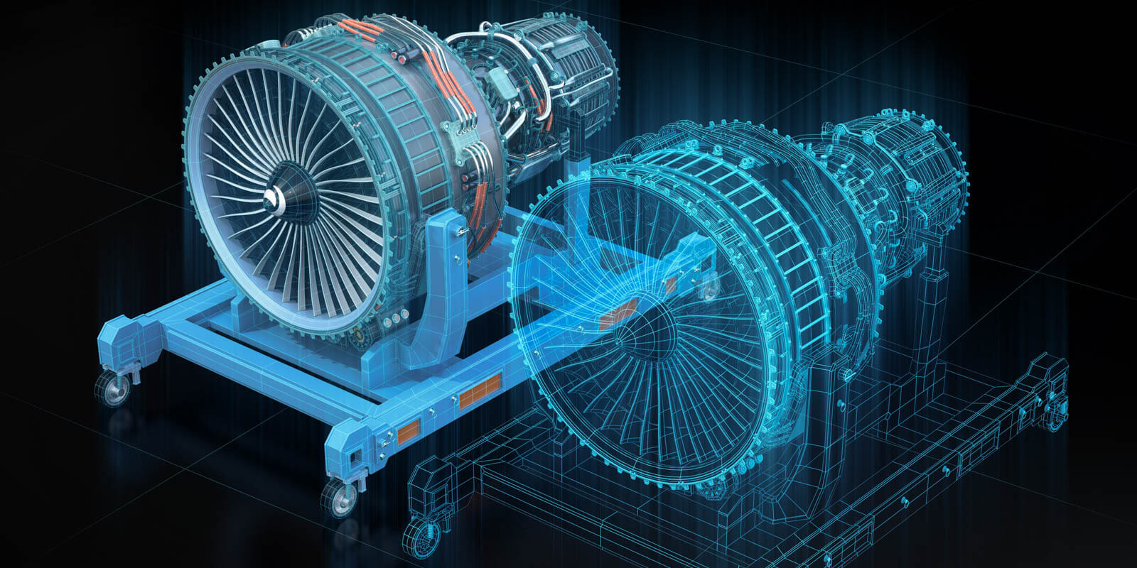 a digital twin of a turbine