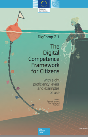 Cover of DigComp 2.1 – The Digital Competence Framework for Citizens